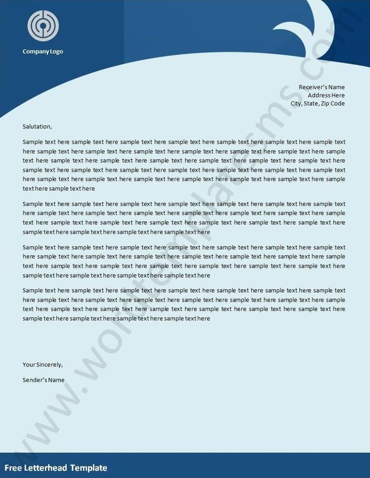 The 25 best Company letterhead ideas – Sample Company Letterhead