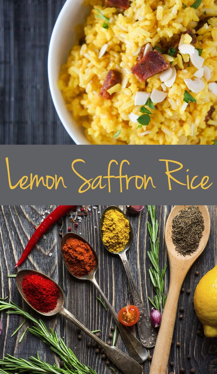 Lemon Saffron Rice