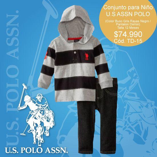 #US #POLO #ASSN, Conjunto para #niño