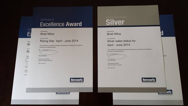 Profile & Awards - Brad Milos Harcourts Realty Plus
