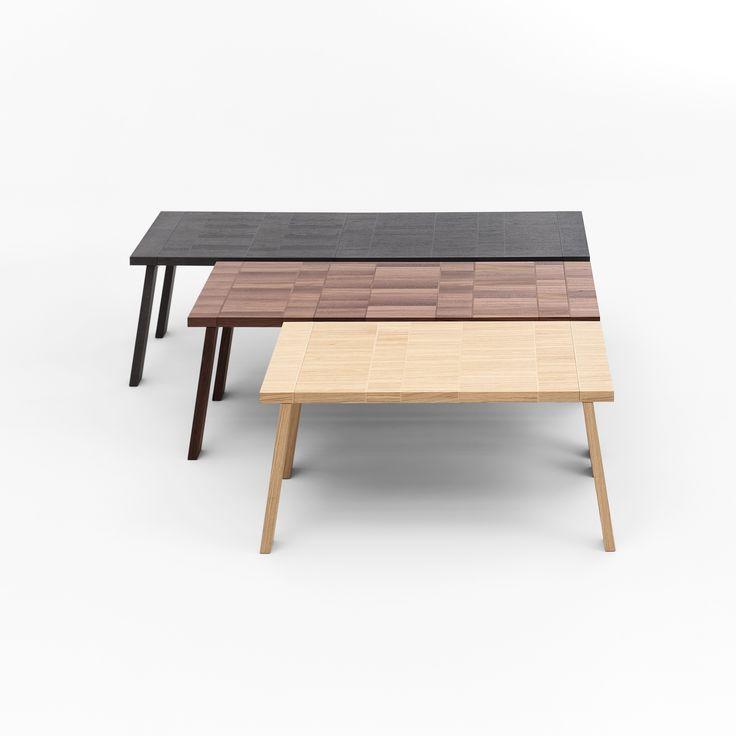 #Section, the perfect #table. #design #designer #designlovers #tavolo #natura #nature #inspiration #wood #wooden #legno #chiaro #scuro #dark #light #bigtable #designers #bigtable #furniture