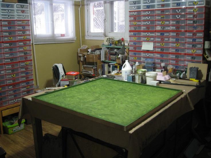Tim S Miniature Wargaming Blog New Dba Game Board S