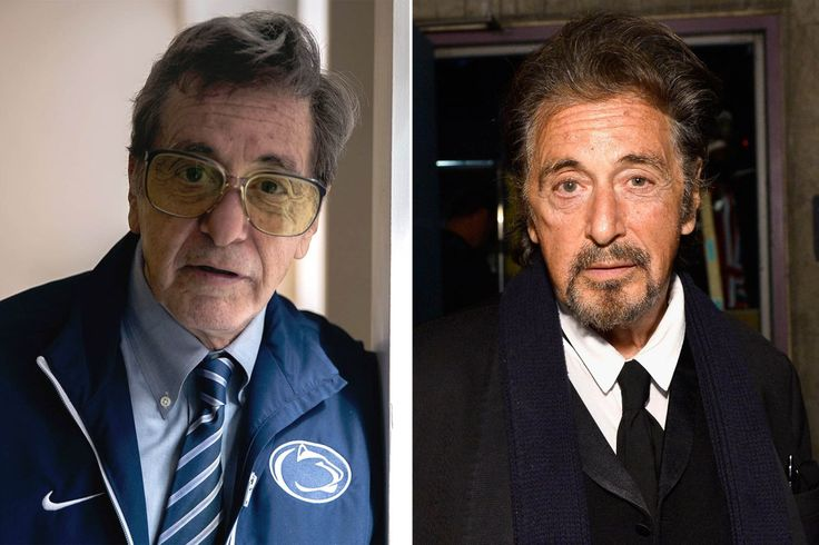 The first look at Al Pacino playing the late former Penn State football head coach Joe Paterno is striking. HBO released the first image Sunday of its as-yet-untitled film that will chronicle the i…