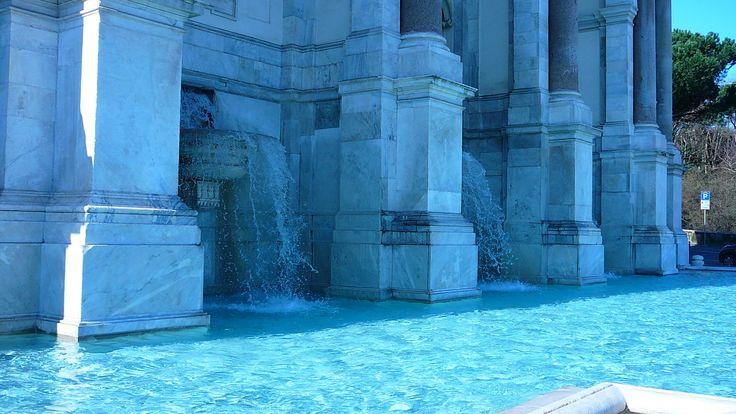 Gianicolo, fontanone #westside