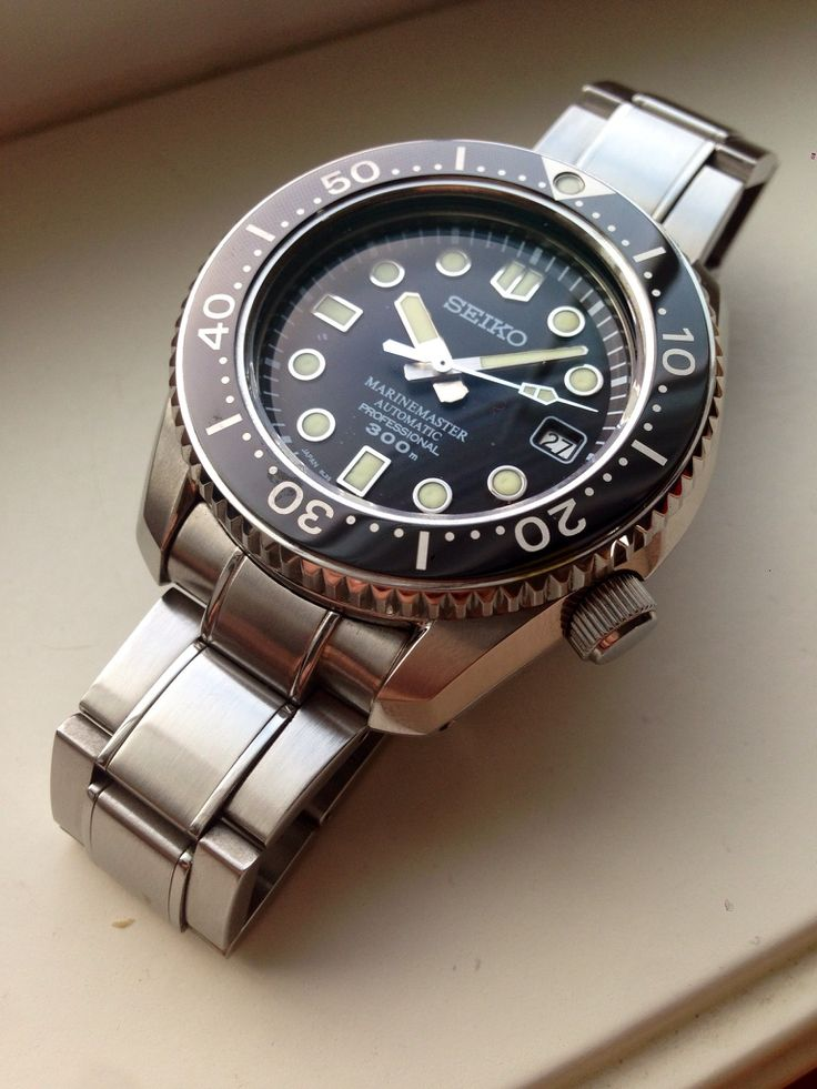Seiko Marinemaster, the newest addition to the family