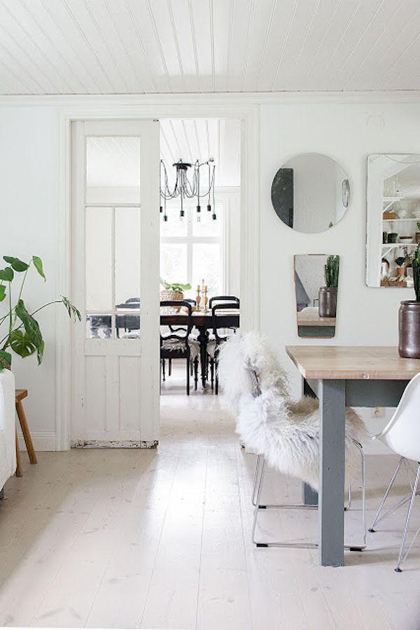 Best 2189 Black & White Interiors ideas on Pinterest | Homes, Dining ...