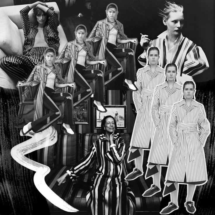 Vreeland Effect - Digital Collage by Alisha Harding