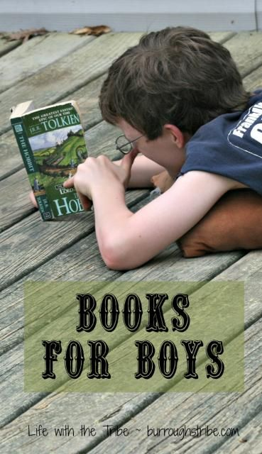 Books for Boys - good suggestions for a reading list. For more book fun, follow us at www.facebook.com/booktasticfun sure they are great for girls too :)