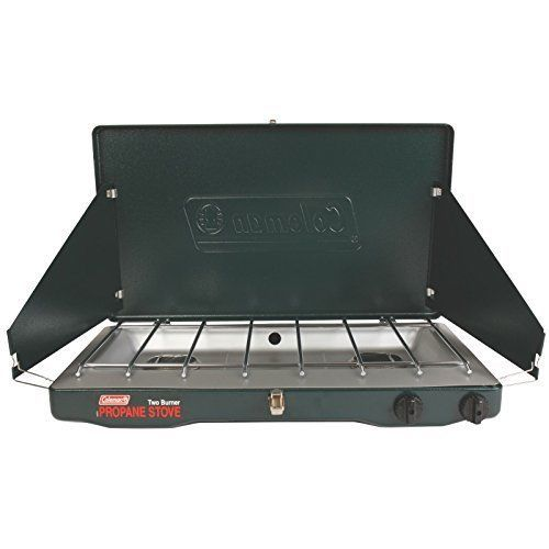 Coleman Classic Propane Stove Camping Two Burner Camp Portable 20000 BTU #Coleman