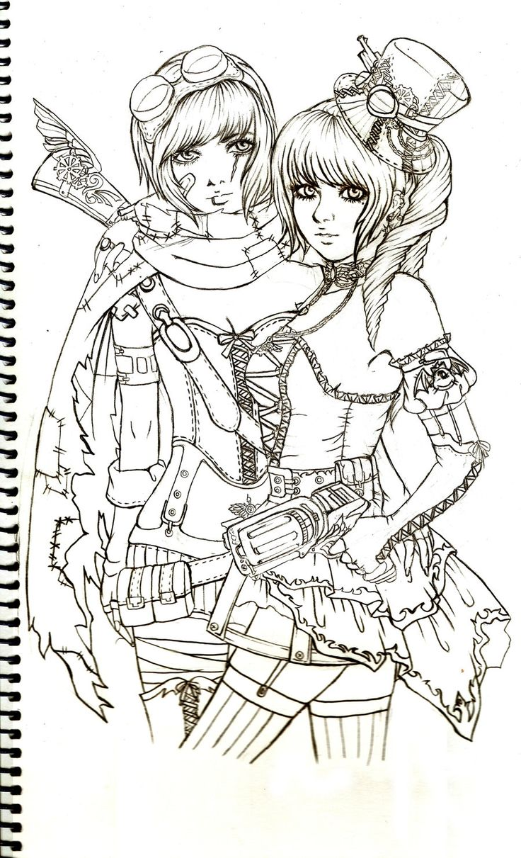 132 best steampunk coloring pages images by Cristina B. on Pinterest ...