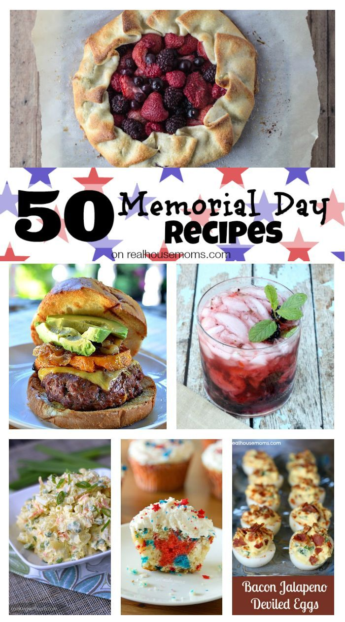 50 Memorial Day Recipes | Real Housemoms | #MemorialDay #Recipes #Roundup