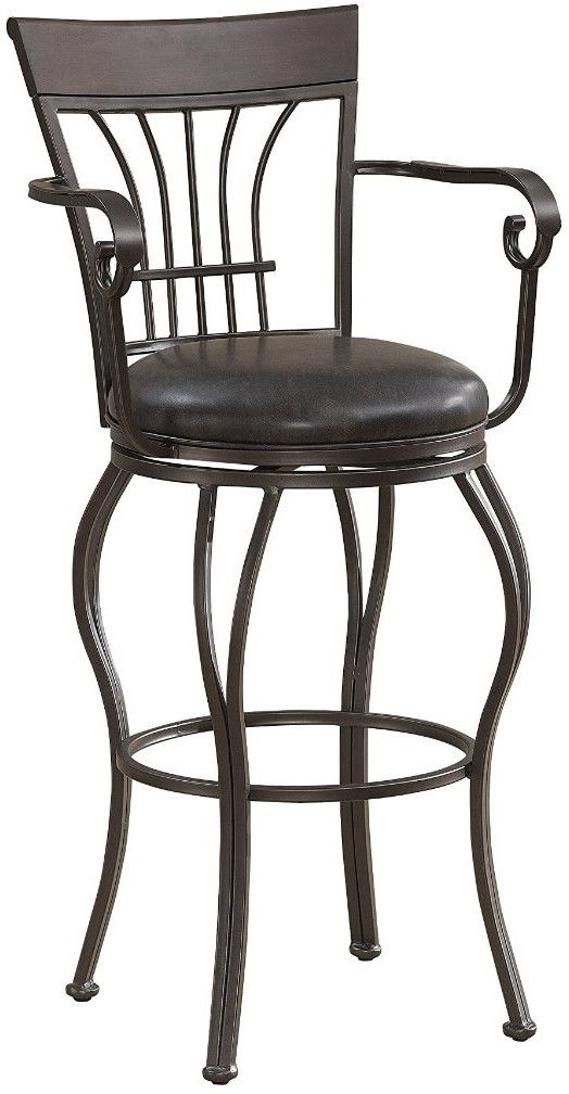 American Heritage Billiards 130110 Trinity Bar Height Stool