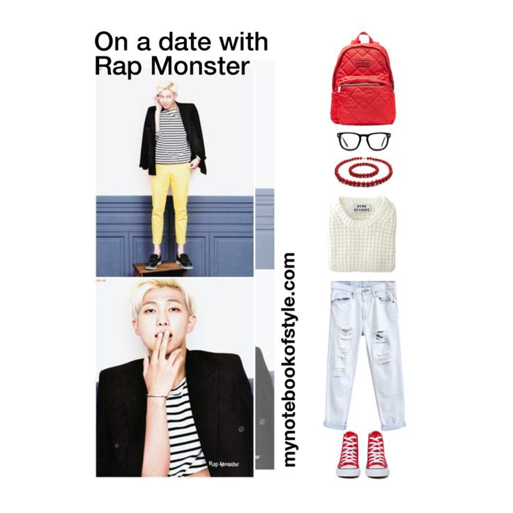 17 Best Images About BTS Outfits On Pinterest | Bts Boys Rap Monster And Bts Just One Day