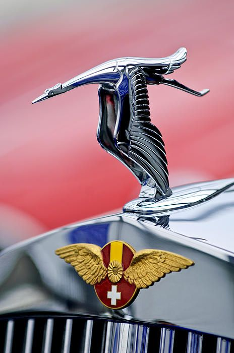 1937 Hispano-Suiza Hood Ornament - Jill Reger - Photographic prints for sale