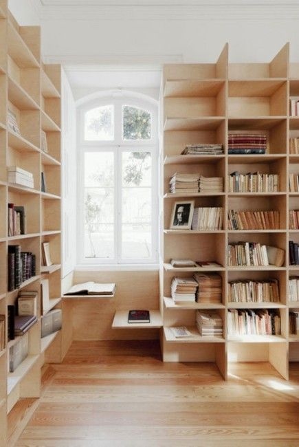 shelf and bench