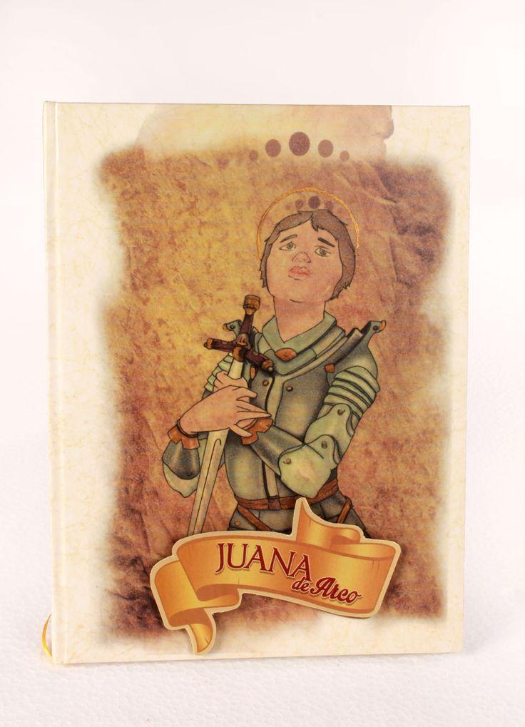 Portada libro ilustrado Juana de Arco