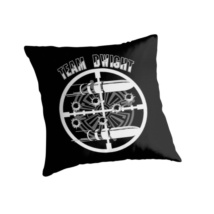 Haven Syfy Inspired Pillow |  Haven Team Dwight Bullet Magnet White Logo