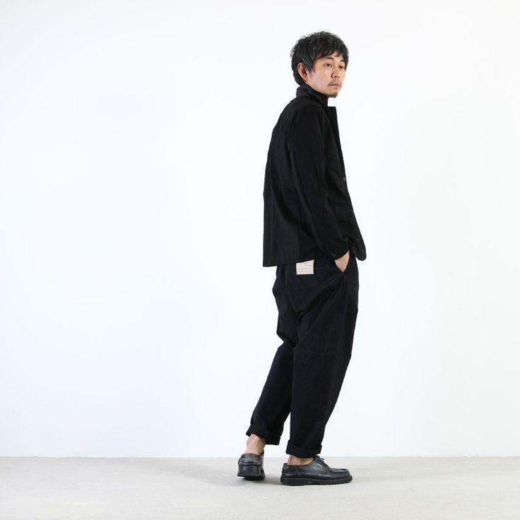 YAECA(ヤエカ) CHINO CLOTH PANTS WIDE TAPERD