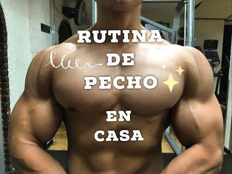 RUTINA DE PECHO MAS GRANDE EN CASA FACIL - ISMAEL MARTINEZ - YouTube