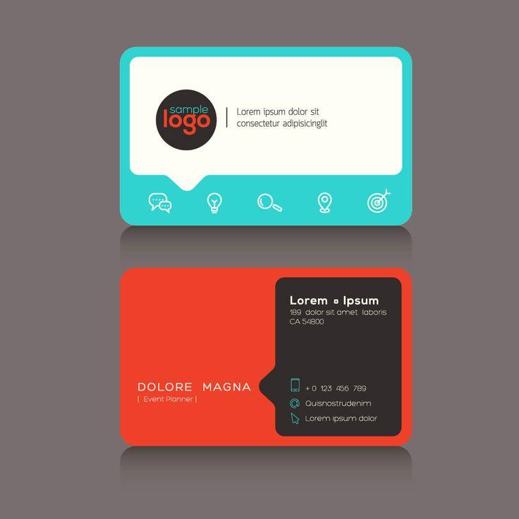 35 best Business Card design images on Pinterest Black, Business - visiting cards