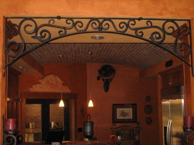 Valance Wrought Iron Wrought Iron Decor Kitchen Decor