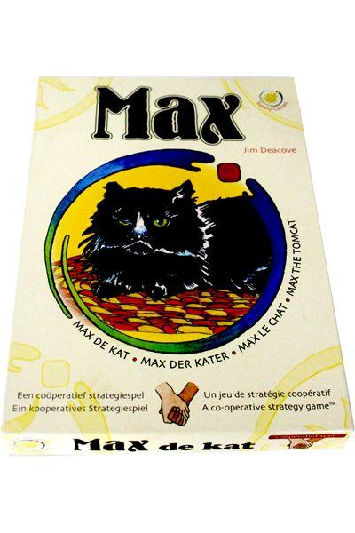 Speel samen als dieren tegen Max de kat die hen wil pakken! Lok hem terug met vier lekkernijen maar zorg dat hij jullie niet inhaalt!