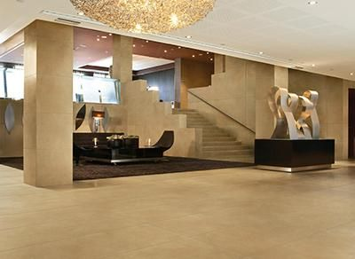 """The """"Luxury Cement"""" line of commercial porcelain tiles available at Centura Tile"""