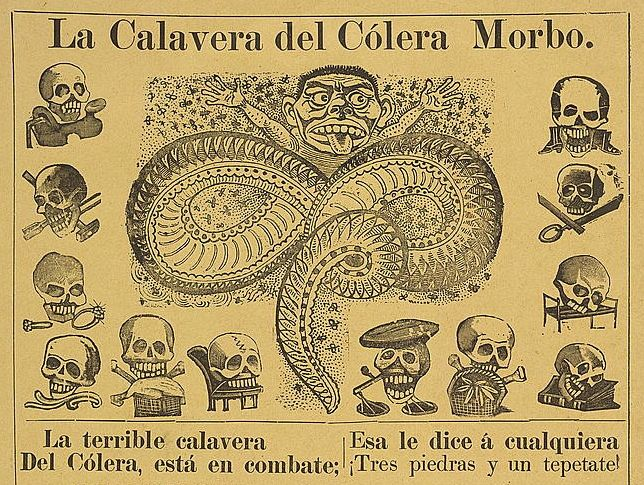 The Calaveras of José Guadalupe Posada | The Public Domain Review