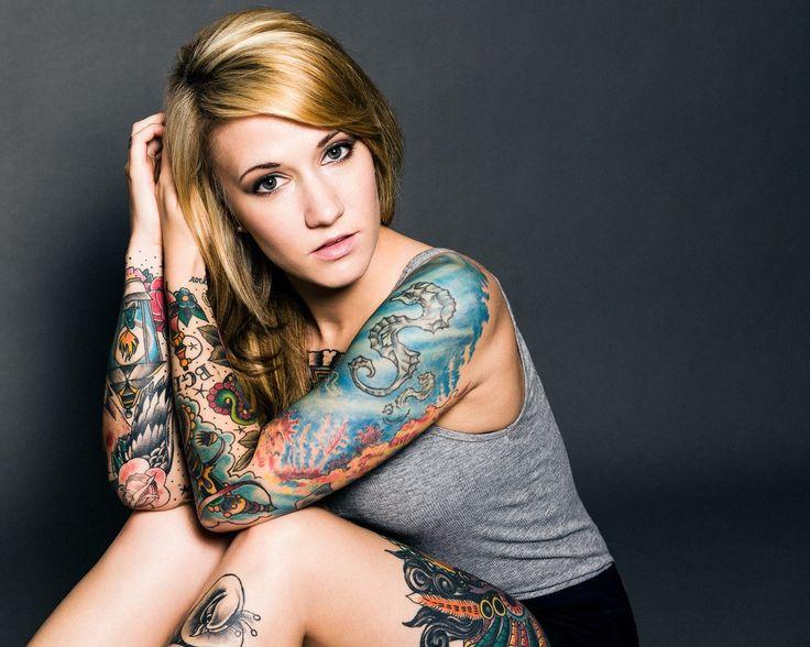 tattooed girl wallpapers