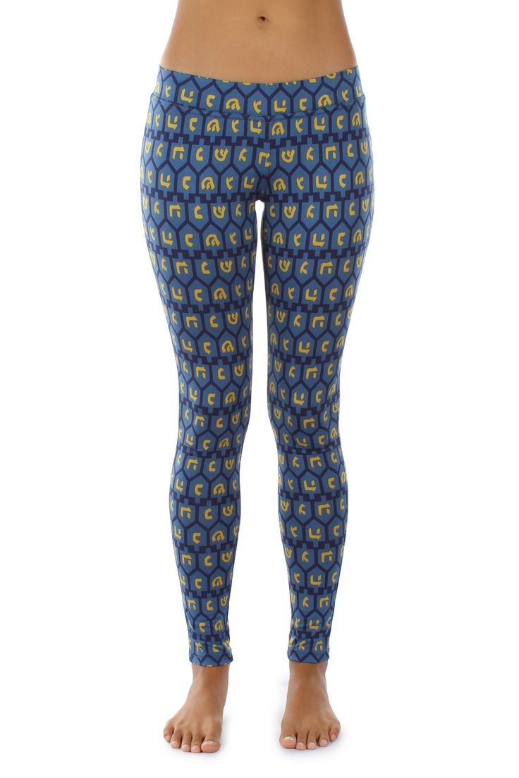 Do you feel bored and want to get out and about for a wild evening of rousing fun? There's no reason you can't do both in these ultra-comfortable Hanukkah leggings covered in dreidels. They're quite cozy and hug your curves warmly.