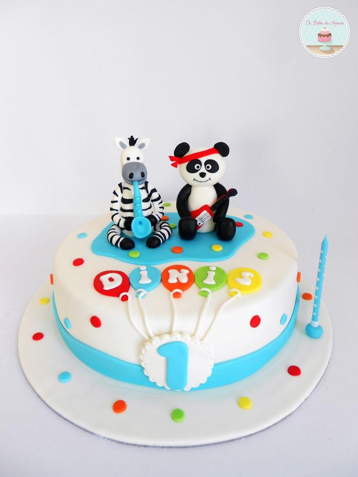 Bolo do Panda * Panda Cake