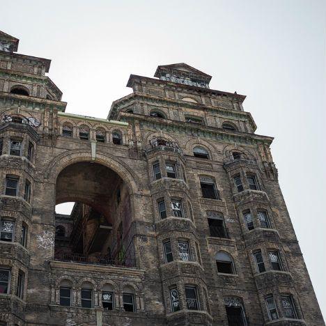 Abandoned Philadelphia: The Divine Lorraine Hotel