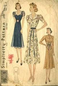 1930s Fashion Illustrations : Swing Fashionista