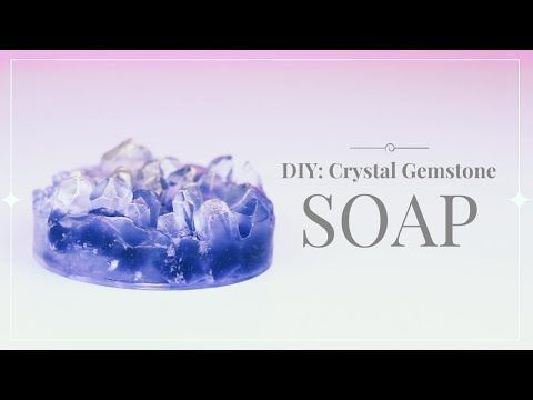 Hey, everyone! Here's another great DIY craft idea—introducing the art of creating crystal cluster gemstone soap! Read more ==> http://gwyl.io/create-soap-that-looks-like-crystals/