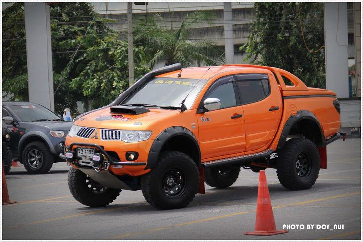 Mitsubishi L200. Saw this down in Costa Rica (not this exact one) and thought it was really cool. Come to the USA!