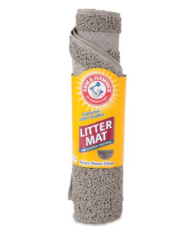 Look what I found on #zulily! Arm & Hammer Half-Circle Cat Litter Mat…
