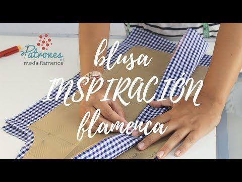 (47) Inspiración flamenca, Blusa Cloe - Cómo hacer una blusa con volantes - YouTube