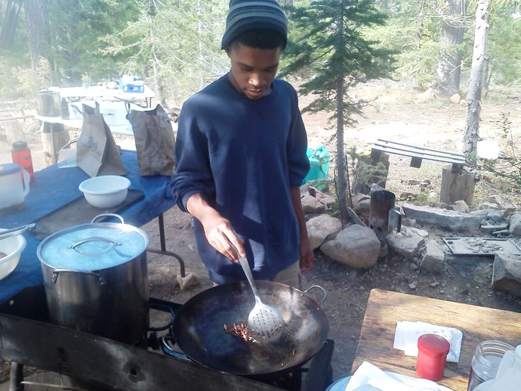 Wilderness Teen Adventure Camp. Grasshoppers to eat, no way! Yes, its true. We serve freshly harvested grasshoppers sauteed and roasted to bring out their rich and earthy flavor. were adding these toasted hoppers as a topping for our pizza were cooking in the dutch oven.