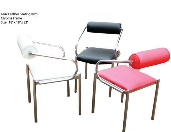 Stylish waiting chairs can enhance your salon decor.