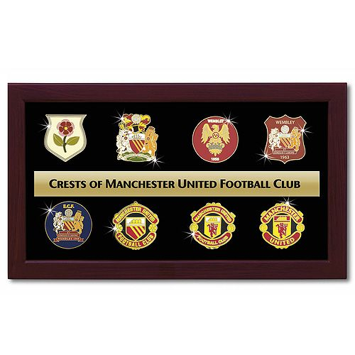 The Crests of Manchester United. Will need to get Chelsea's crests for the bf.