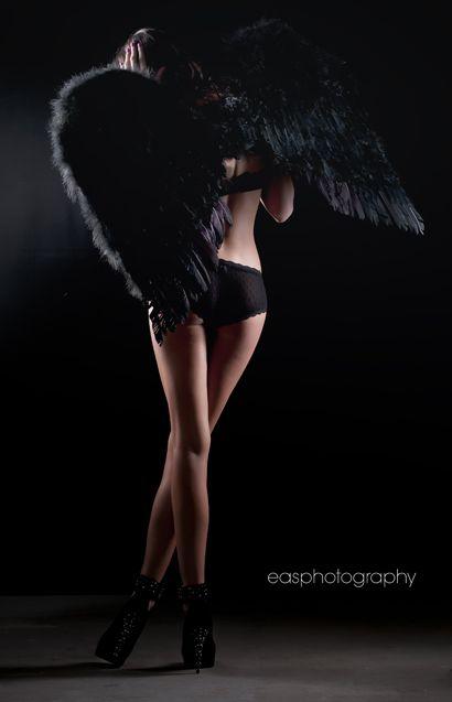 NOIR Black Beauty :: Black Angel Wings