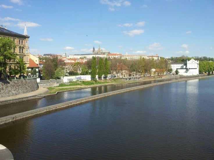 Nice day in Prague