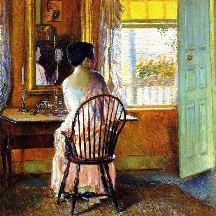 Childe Hassam, Luce del matiino, 1914