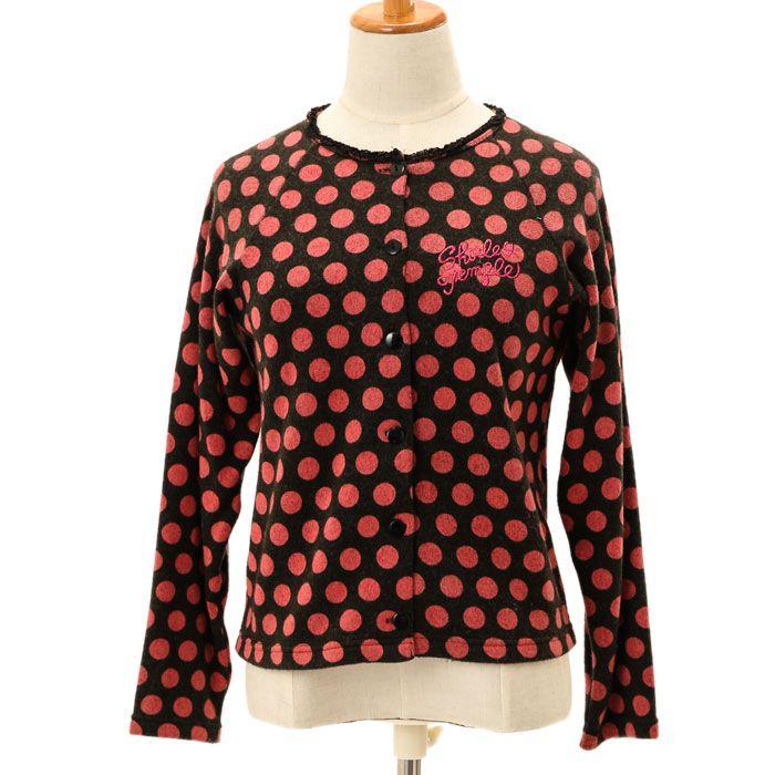 ドットカーディガン|ロリィタファッションshirly Temple | シャーリーテンプル|ロリータ ゴスロリ服・古着の通販はワンダーウェルト
