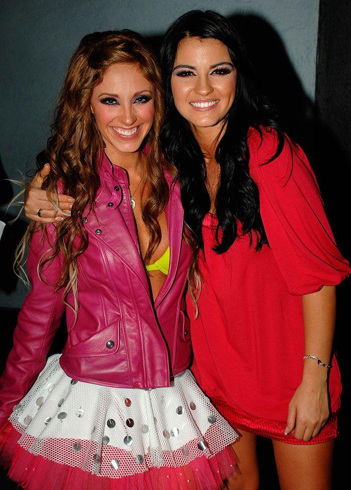 Anahí aprovechó el cumpleaños de Maite Perroni para recordar su divertida época en RBD