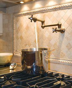 Faucet Over Range Must Dream Home Pinterest Stove