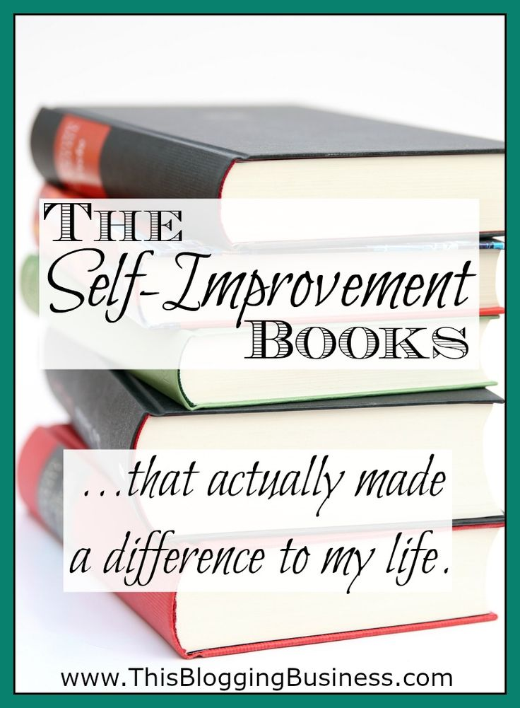 The Best Self Improvement Books... that actually made a difference in my life. This list isn't a re-hash of all the old classics that you've seen a million times before. This is a list of self-improvement / personal development books that inspired me to actually change!