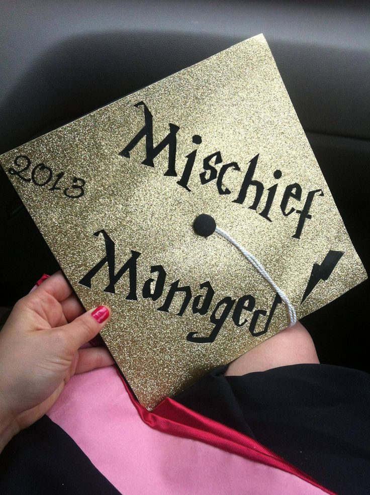 I too made a Harry Potter themed Graduation Cap! - Imgur :: AHHHHHHHHHHHH! i may just buy my cap (and only my cap) for this! xD or! i could make my own cap and save monies. >:3