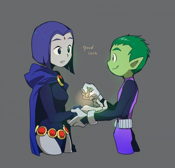Good Stories Belong On Skin: 134 Best Images About Beast Boy And Raven On Pinterest