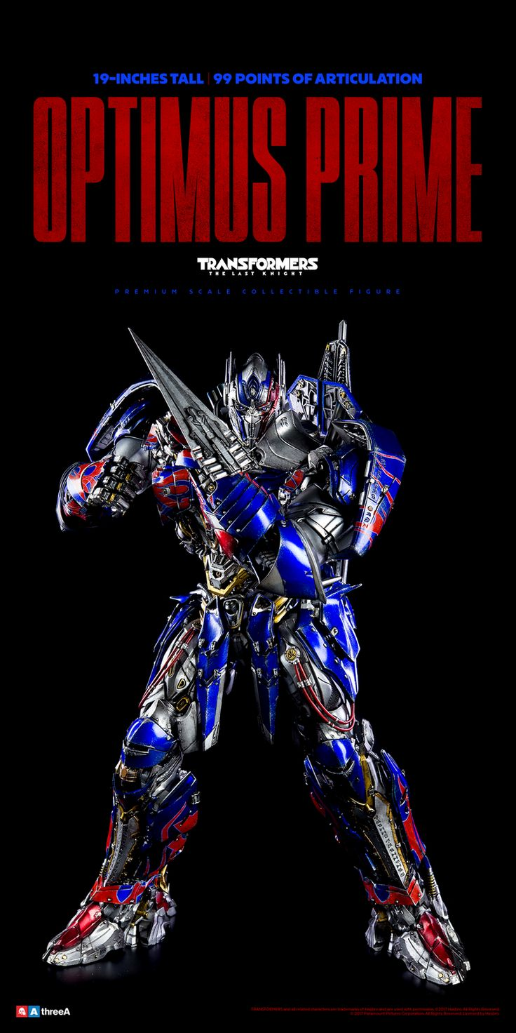 Transformers The Last Knight Wave One are now available for Pre-order at BAMBALAND.COM and Coming Soon to 3A Stockists Worldwide! The Bambaland Editions of Optimus Prime, Bumblebee, and Autobot Sqweeks each include an additional accessory! Check for full details and more pics here: http://www.worldofthreea.com/threea-production-blog/tftlkwaveone #threeA #WorldOf3A #WO3A #Transformers #TransformersTheLastKnight #Transformers5 #OptimusPrime #Autobots #MichaelBay